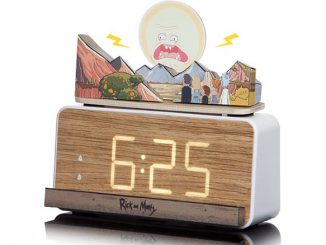 Rick and Morty Screaming Sun Alarm Clock