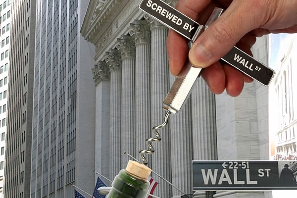 Screwed by Wall Street Corkscrew