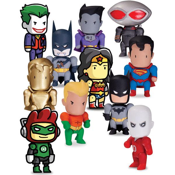 Scribblenauts Unmasked Mini Figures Series 1
