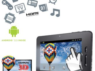 """Scroll Excel 7"""" Tablet with 3D & 1080p HD Output"""