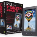 "Scroll Excel 7"" Tablet with Android 2.3"