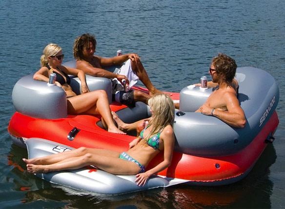 Sea-Doo-Aqua-4-Lounge-with-MP3-System