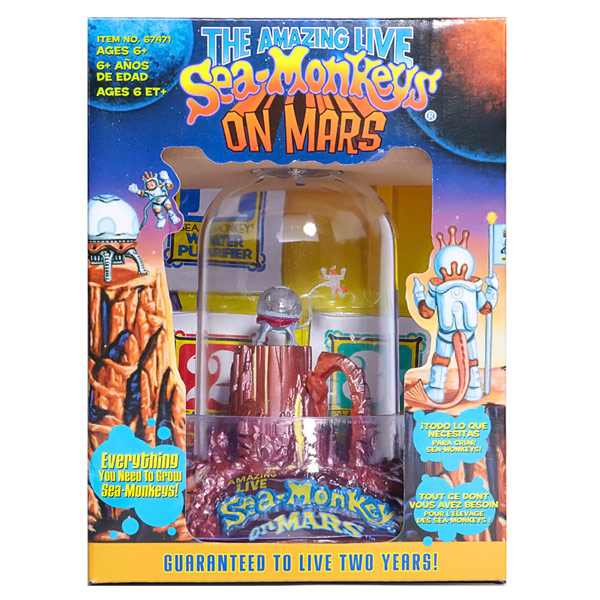 Sea Monkey on Mars