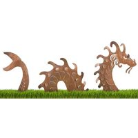 Sea Serpent Outdoor Garden Sculpture