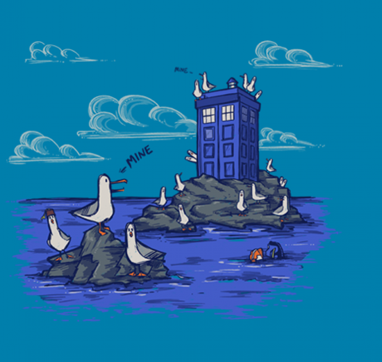 Seagulls have the Phonebox Shirt