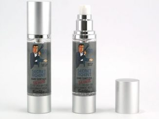 Secret Agent Hand Sanitizer
