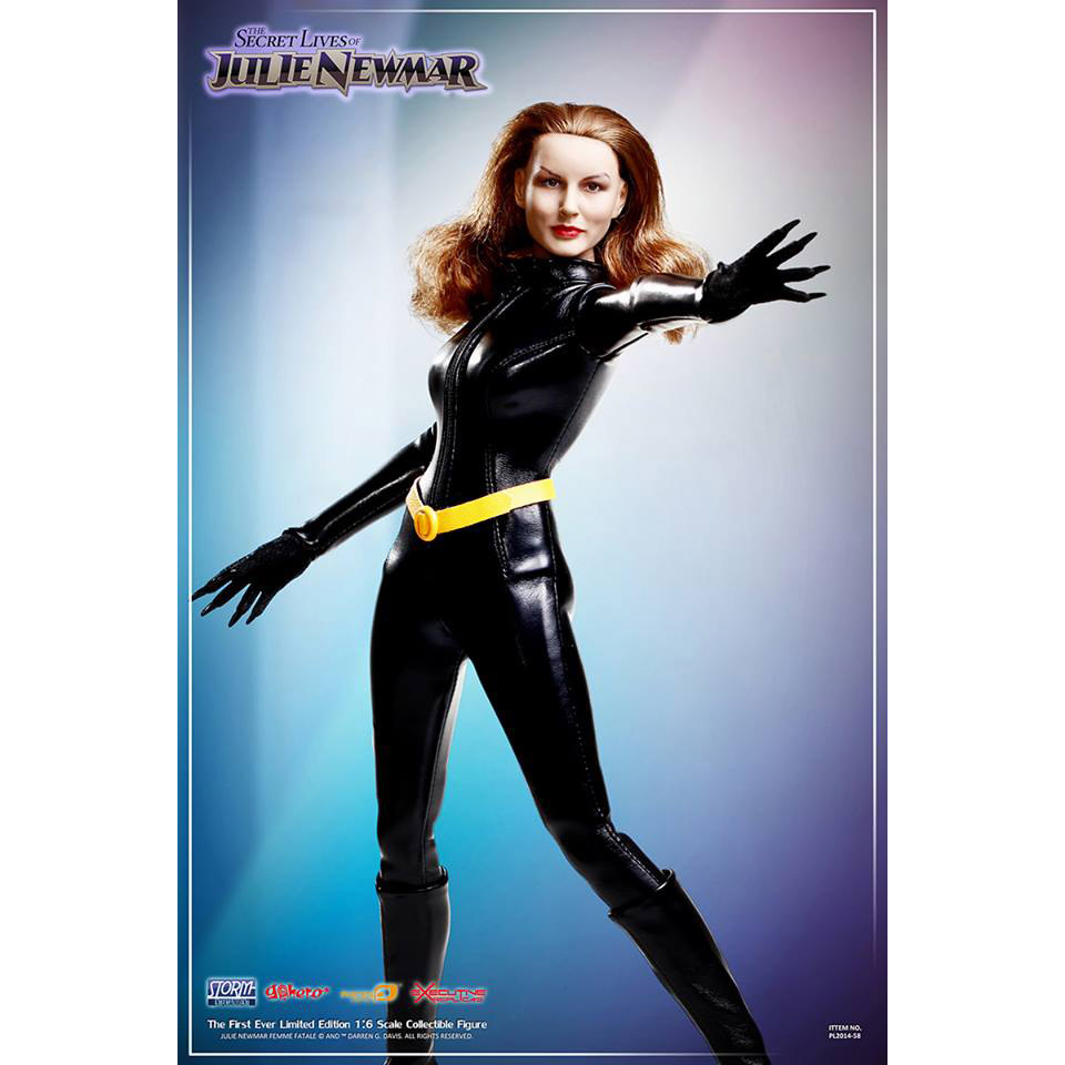 Secret Lives Of Julie Newmar 16 Scale Action Figure Geekalerts 1 6 Female The Will Be Available November 2016 But It Can Pre Ordered Now For 14999 At Entertainment Earth