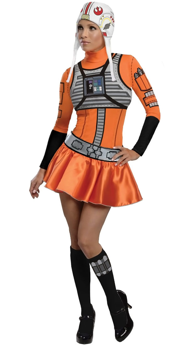 Secret Wishes Star Wars Female XWing Fighter Outfit