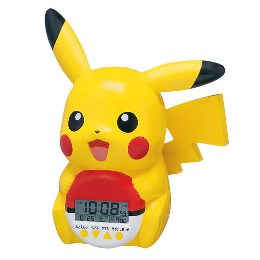 Seiko Pikachu Talking Alarm Clock