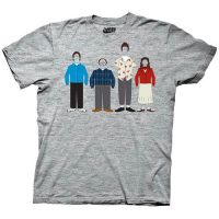 Seinfeld Group Clothing Heather Gray T-Shirt