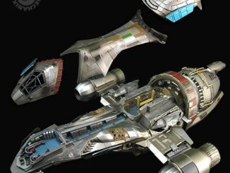 Serenity 1:250 Scale Cutaway Replica Detail