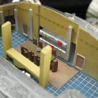 Serenity 1:250 Scale Cutaway Replica Interior