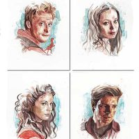 Serenity Firefly Shiny Nine Art Prints