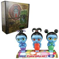 Serenity Fruity Oaty Girls Bobble Head Maquette Set