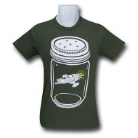 Serenity in a Jar Green Firefly Shirt