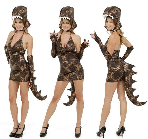 Sexy Dinosaur Costume