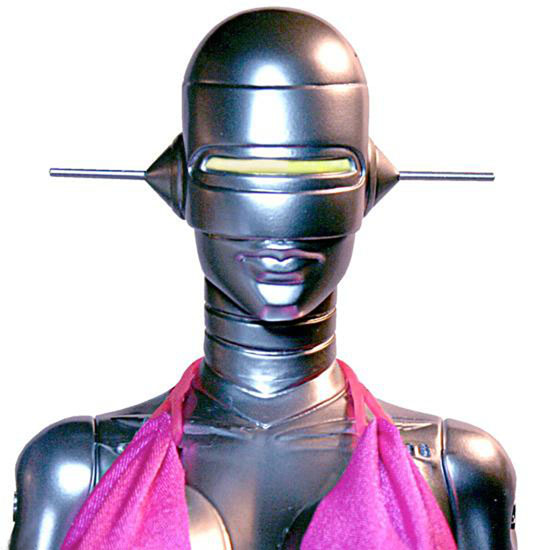 Sexy Robot 001 in Pink Bathing Suit
