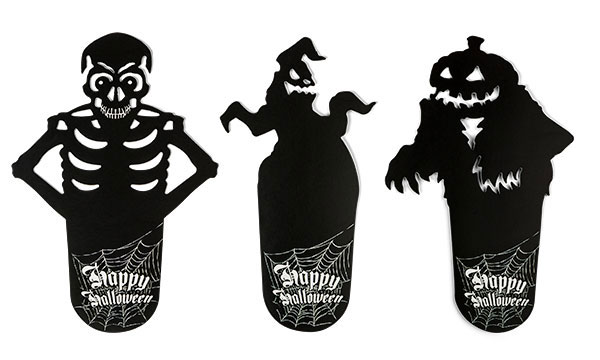 Shadow Happy Halloween Coasters