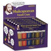 Shakespearean Insult Chewing Gum