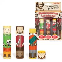 Shakespearean Lip Balm Set
