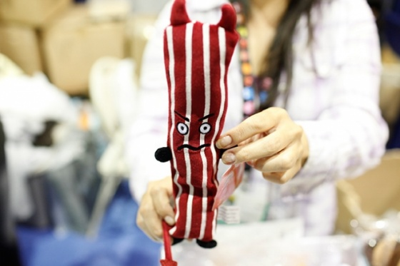 Shaky Bacon Toy
