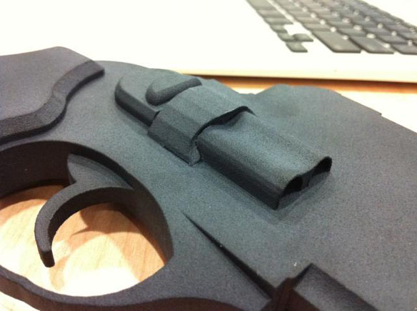 Shapeways Ruger Gun iPhone Dock