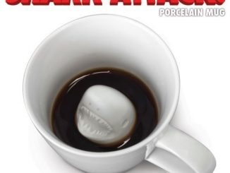Shark Attack Porcelain Mug