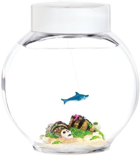 Shark Electronic Pet in Glass Bowl