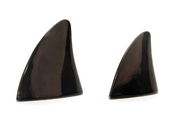 Shark Fin Salt & Pepper Shakers