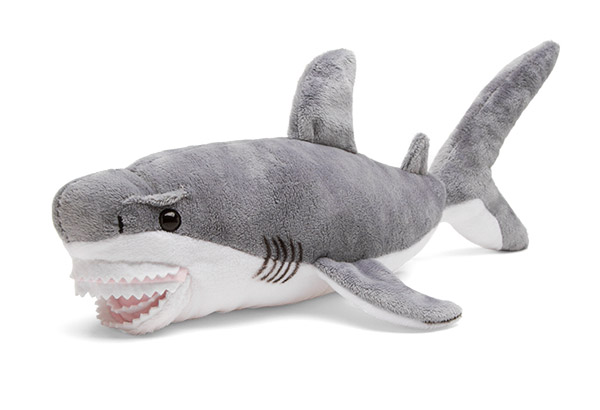 Want a sharknado  Just turn on your fan full blast and throw this guy  around. This Shark Plush Toy is all kinds of fun. He s plush. He s a shark. 50b0dac3a