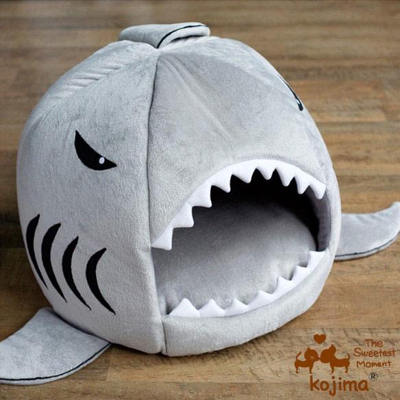 Shark Puppy Bed