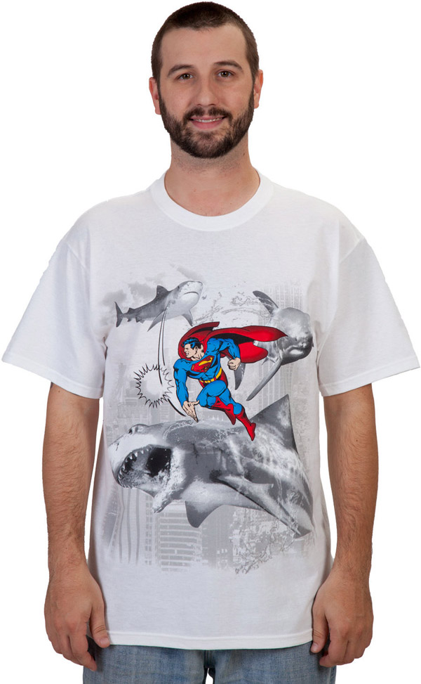 Sharknado Superman T-Shirt