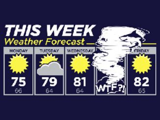 Sharknado Weather Forecast Shirt