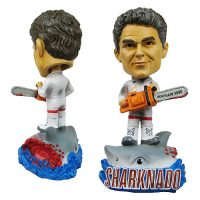 Sharknado vs The Hoff Bobble Head
