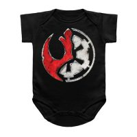 Shattered Rebel Empire Baby Snapsuit