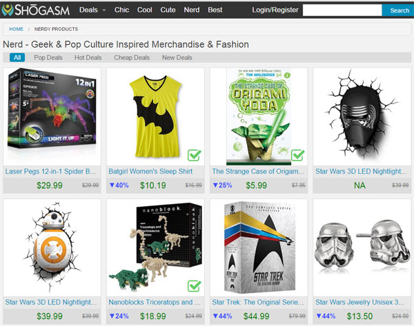 Shogasm.com Total Shopping Satisfaction