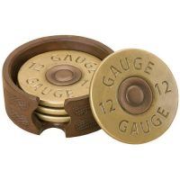 Shotgun Shot Shell Coaster Set of 4