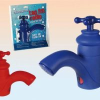Shower FM Radio Blue Tap