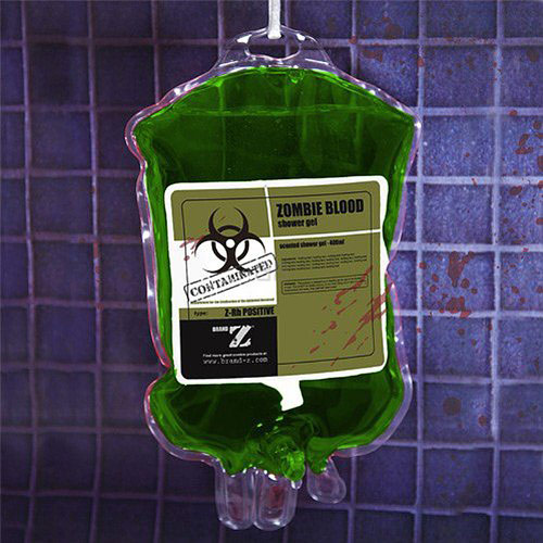 Shower Gel Zombie Blood