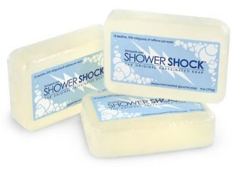 Shower Shock Caffeinated Soap