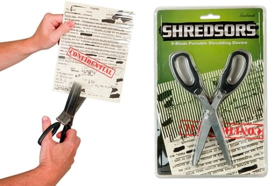 Shredsors - Shredding Scissors