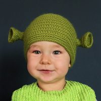 Shrek Beanie for Babies