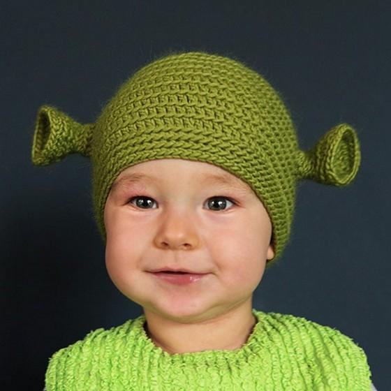Shrek Baby Beanie