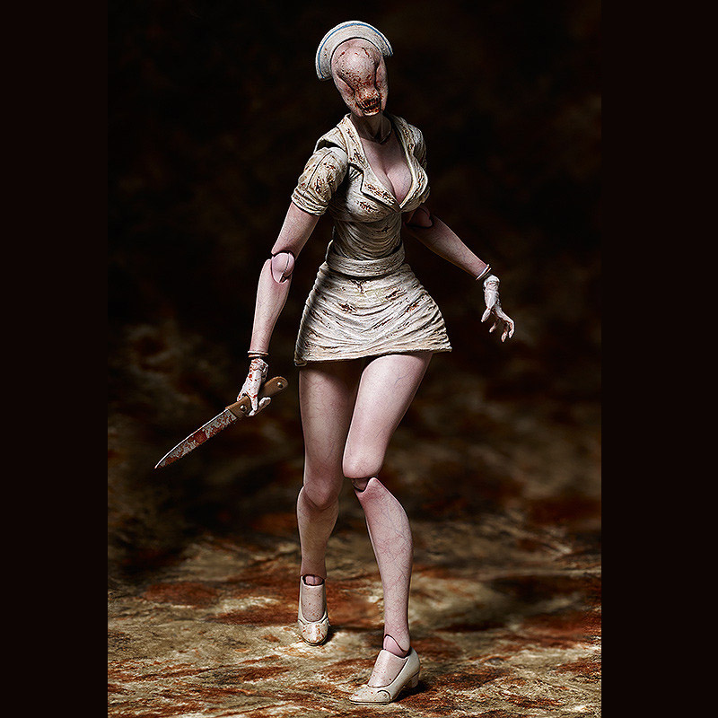 The silent hill 2 bubble head nurse figma figure will be available