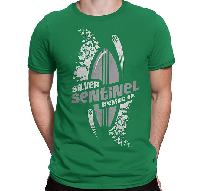 Silver Sentinel Brewing Company T-Shirts