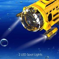 Silverlit- SpyCam Aqua RC Submarine