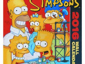 Simpsons Bongo Comics 2016 Wall Calendar