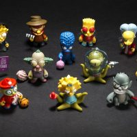 Simpsons Kidrobot Treehouse of Horror Mini Figures
