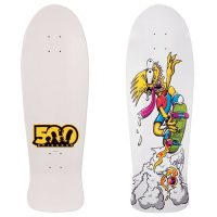 Simpsons Limited Edition 500th Episode Bart Slasher Skateboard Deck