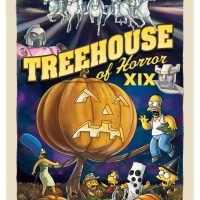 Simpsons Treehouse of Horror XIX Canvas Giclee Print